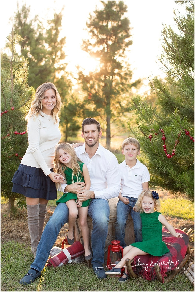 Family Christmas Pictures.Cunningham Family Christmas College Station Texas